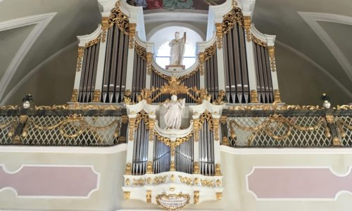 Gries am Brenner (A-Tirol) - Pfarrkirche Mariae Heimsuchung - Orgelbilder 6