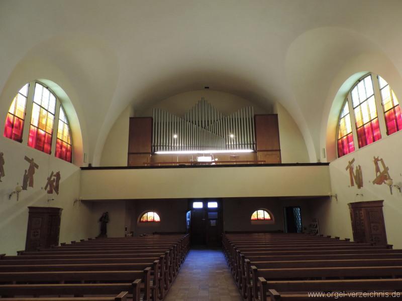 Seelisberg St. Michael Orgelprospekt