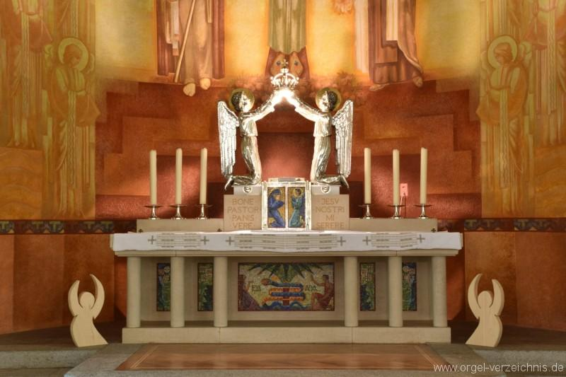 Emmetten St. Theresia und Jakob Altarraum