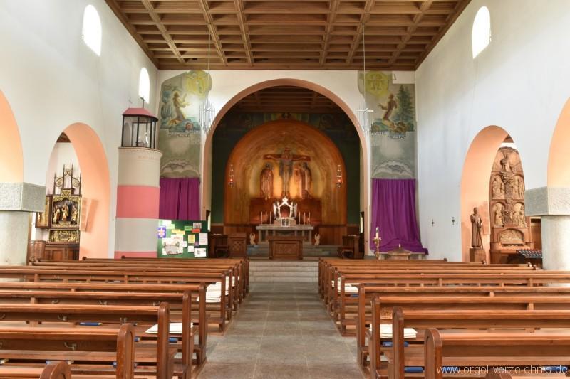 Emmetten St. Theresia und Jakob Kirchenraum