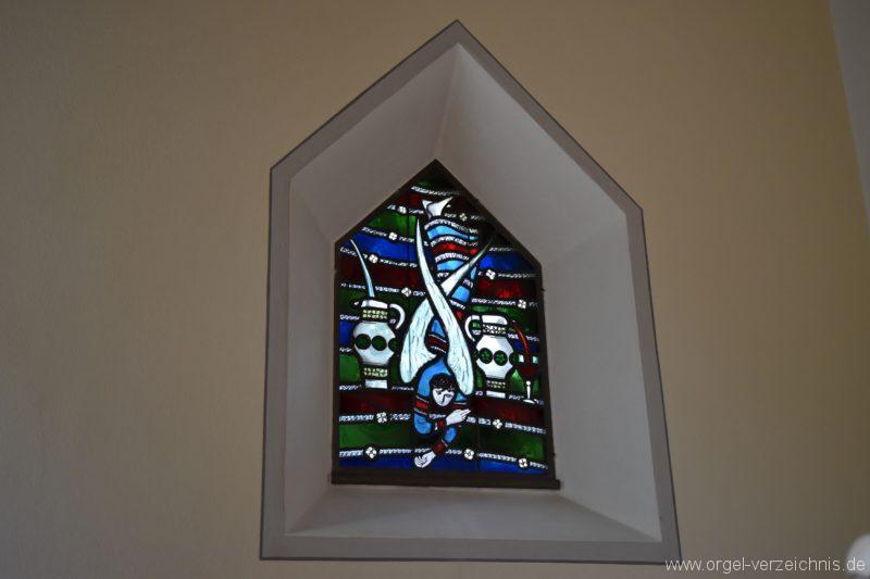 Hergiswil NW Reformierte Kirche Altarfenster I