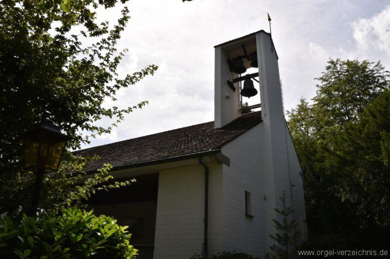 Hergiswil NW Reformierte Kirche Aussenansicht II