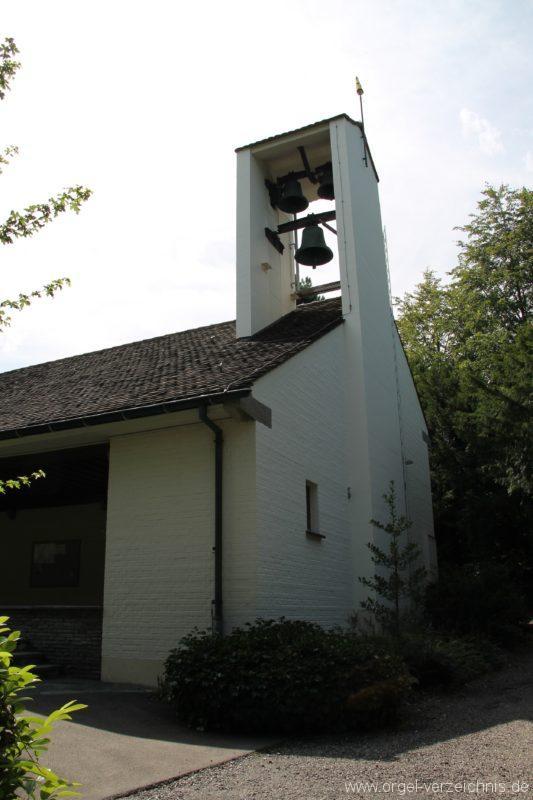 Hergiswil NW Reformierte Kirche Aussenansicht III