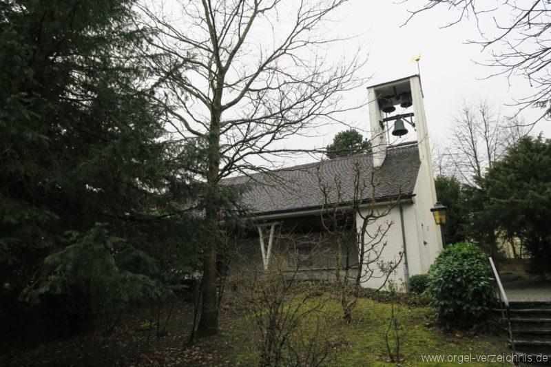 Hergiswil NW Reformierte Kirche Aussenansicht VI