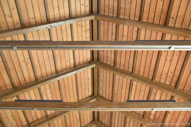Hergiswil NW Reformierte Kirche Deckenkonstruktion I