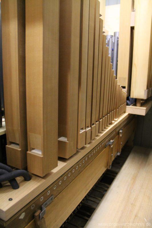 Hergiswil NW Reformierte Kirche Pfeifenwerk Genf Erni Orgel I