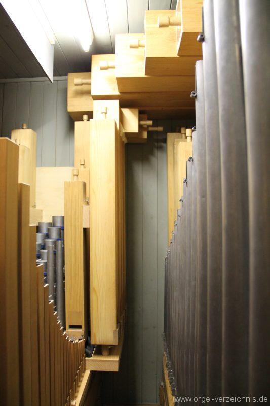 Hergiswil NW Reformierte Kirche Pfeifenwerk Genf Erni Orgel II