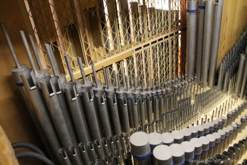 Hergiswil NW Reformierte Kirche Pfeifenwerk Genf Erni Orgel V