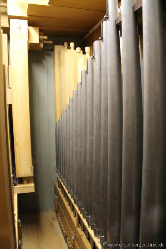 Hergiswil NW Reformierte Kirche Pfeifenwerk Genf Erni Orgel VI