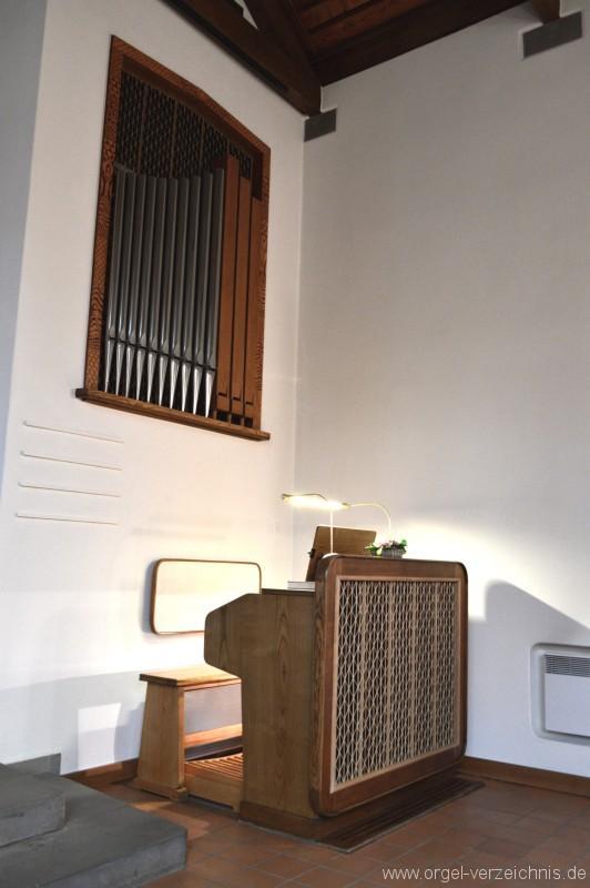Hergiswil Reformierte Kirche Prospekt