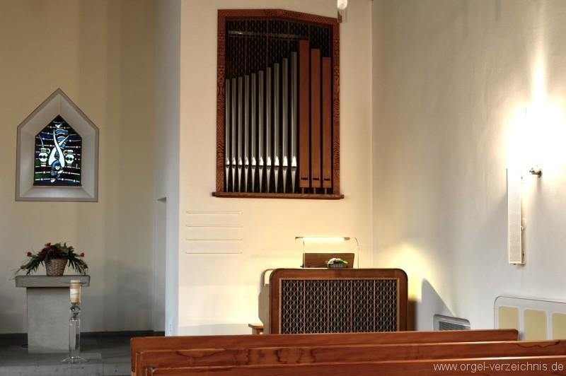 Hergiswil Reformierte Kirche Prospekt II