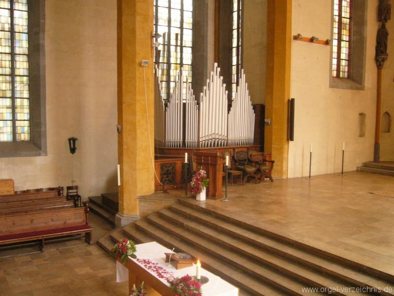 Jena – Stadtkirche St. Michael .- Orgel