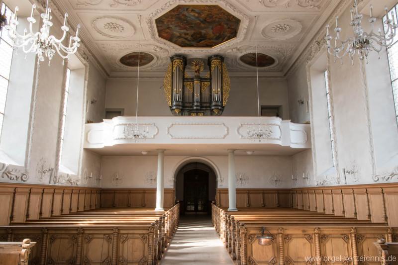 Herznach – St. Nikolaus Orgel