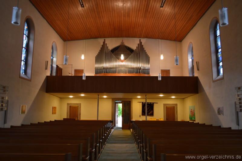 Zell im Wiesental - Evangelische Stadtkirche Orgel