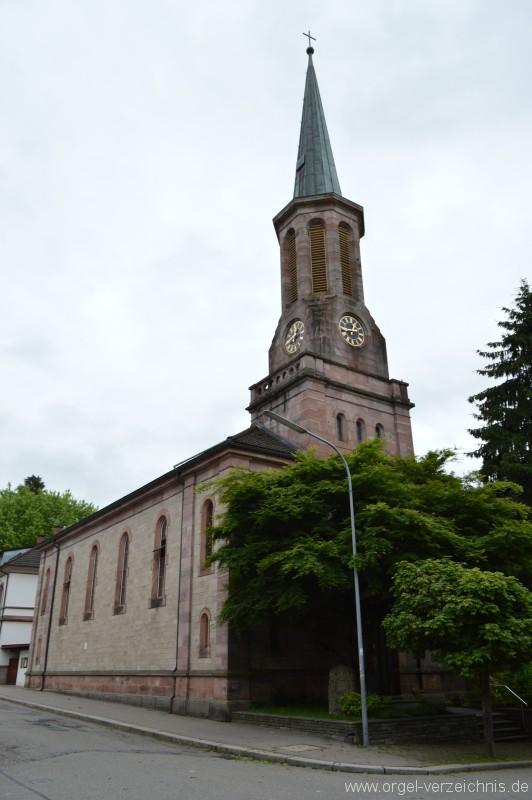 Zell im Wiesental - Evangelische Stadtkirche