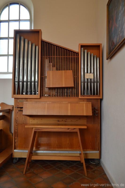 Zell im Wiesental/Mambach-Pfaffenberg – Kapelle St. Maria Frieden Orgel