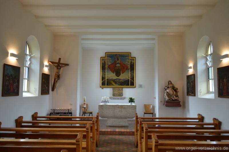 Zell im Wiesental/Mambach-Pfaffenberg – Kapelle St. Maria Frieden