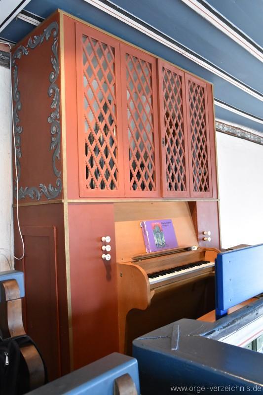 Zell im Wiesental/Gresgen – Evangelische Nikolauskirche Orgel