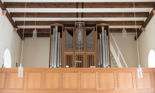 Zell im Wiesental/Mambach – St. Antonius Orgel