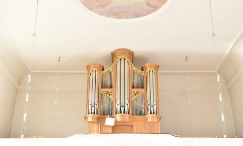 Hornussen - St. Mauritius Orgel