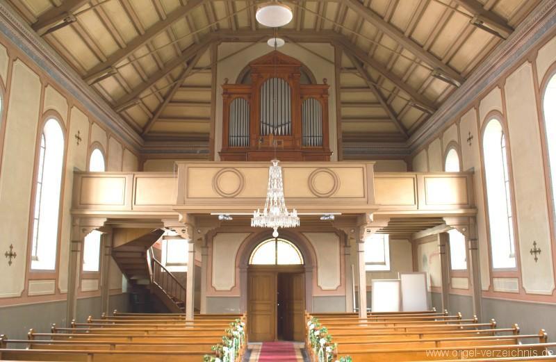 Zell im Wiesental – Altkatholische Christuskirche Orgel