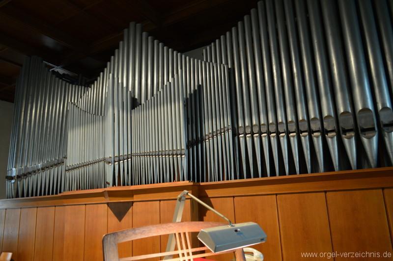 Zell im Wiesental – St. Fridolin - Orgel