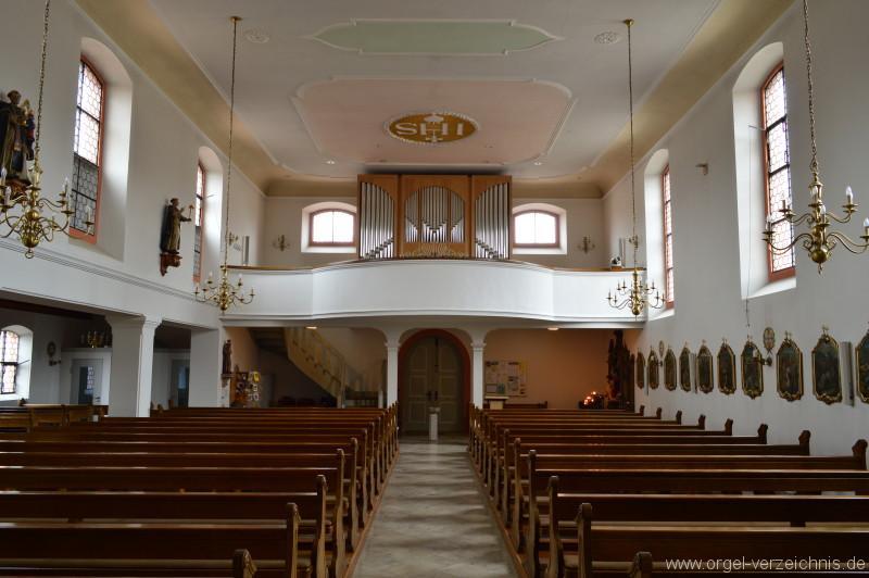 Konstanz Dettingen St.Verena Orgelprospekt