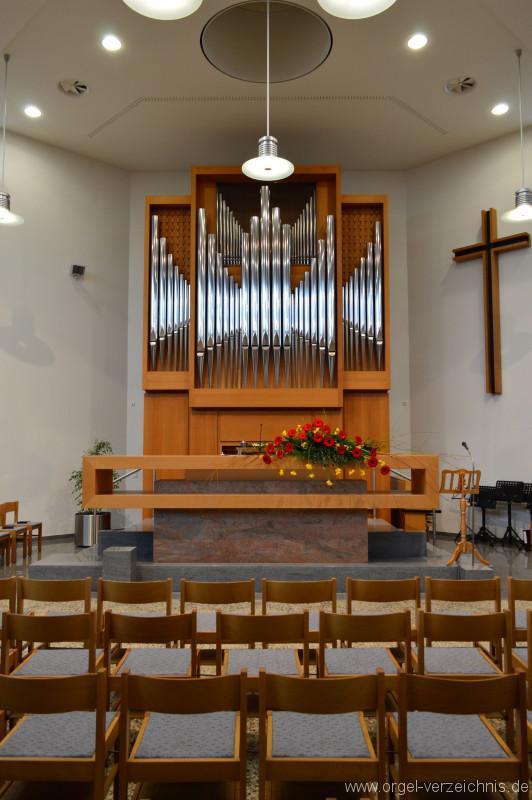 Ravensburg Neuapostolische Kirche Orgelprospekt