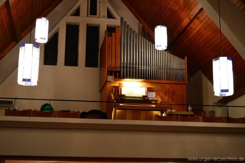 Kappelrodeck Evangelische Kirche Orgelprospekt
