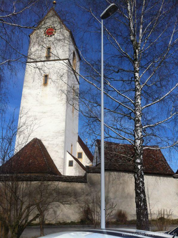 Herznach St. Nikolaus Aussenansicht