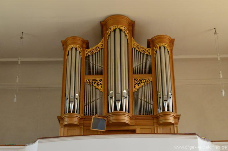 Hornussen St. Mauritius Orgelprospekt