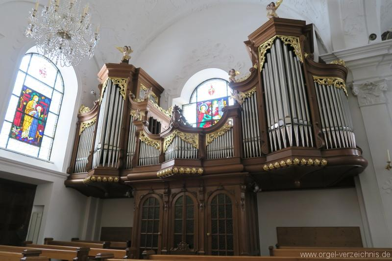 Melchtal Wallfahrtskirche Orgelprospekt