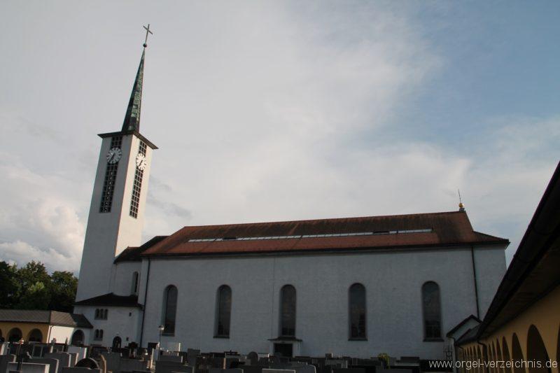 Lustenau Kirchdorf St. Peter und Paul Aussenansicht II