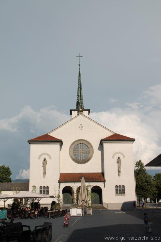 Lustenau Kirchdorf St. Peter und Paul Aussenansicht III