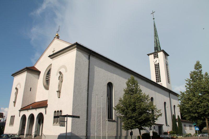 Lustenau Kirchdorf St. Peter und Paul Aussenansicht IV