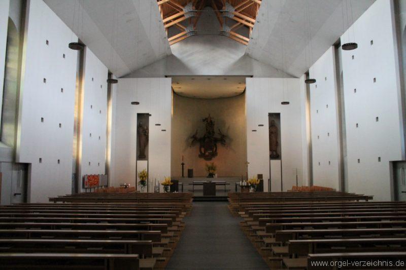 Lustenau Kirchdorf St. Peter und Paul Innenansicht
