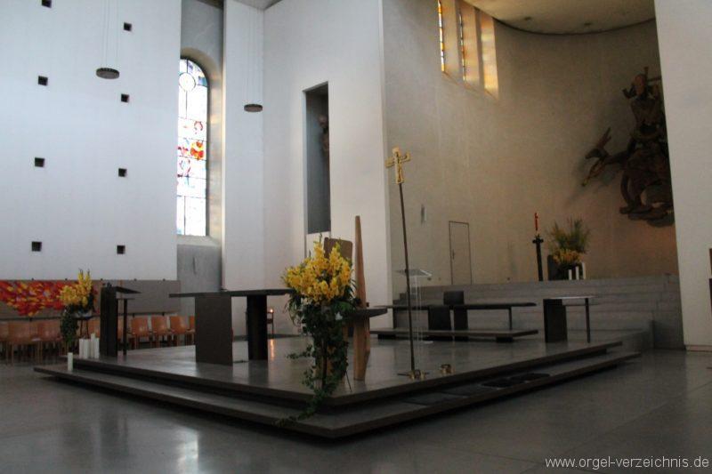Lustenau Kirchdorf St. Peter und Paul Innenansicht II