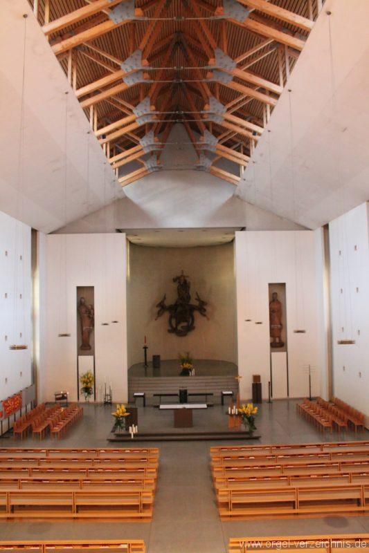 Lustenau Kirchdorf St. Peter und Paul Innenansicht III