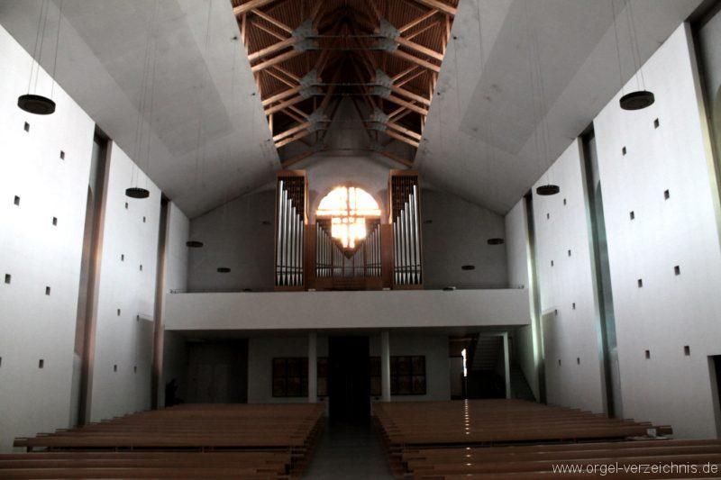 Lustenau Kirchdorf St. Peter und Paul Orgelprospekt I