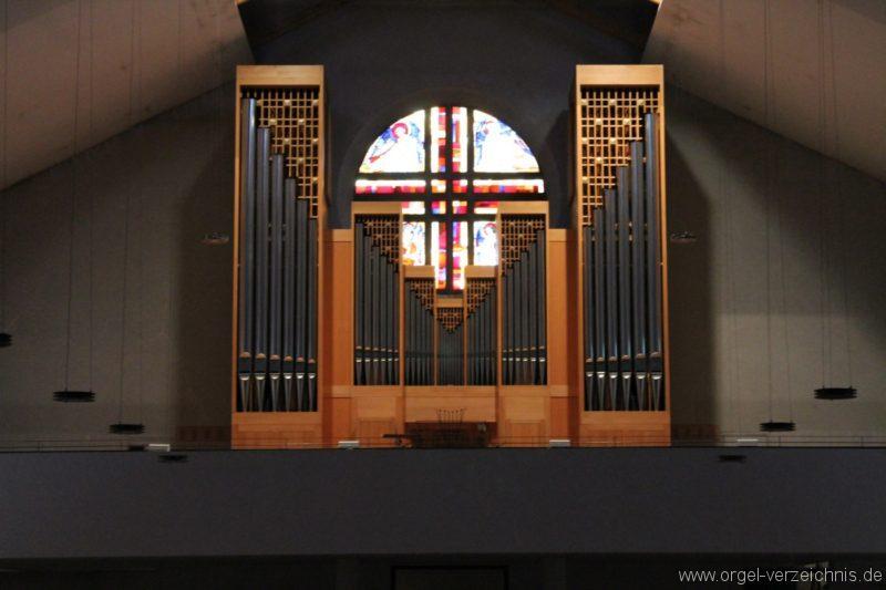 Lustenau Kirchdorf St. Peter und Paul Orgelprospekt II