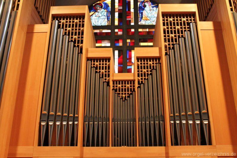 Lustenau Kirchdorf St. Peter und Paul Orgelprospekt IV