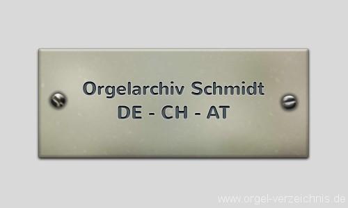 Orgel-Seite