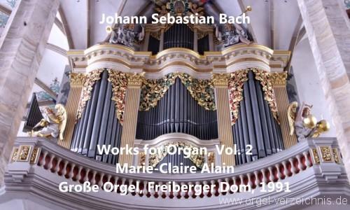 Marie Claire Alain – JS Bach