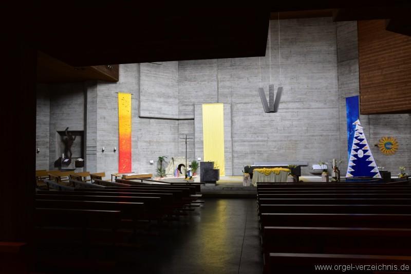 Buchs St. Johannes Evangelist Altar