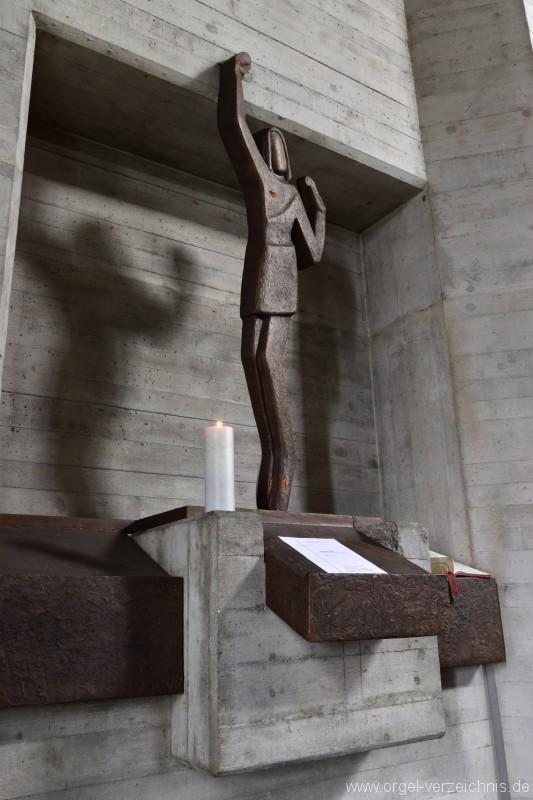 Buchs St. Johannes Evangelist Figur