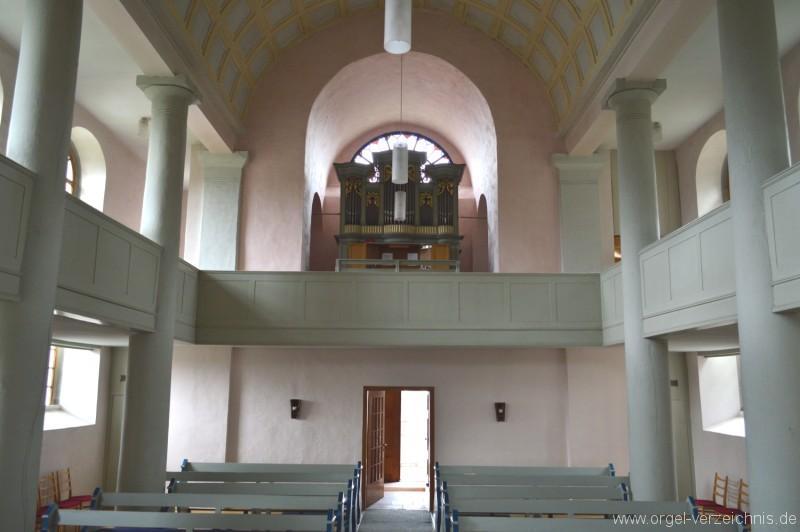 Buedingen Rohrbach Nikolauskirche Orgel