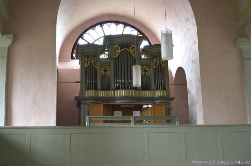 Buedingen Rohrbach Nikolauskirche Orgel II