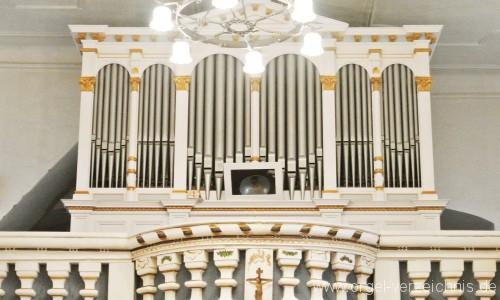 Culitzsch  Wilkau-Haßlau  Laurentiuskirche Kreutzbach Orgel