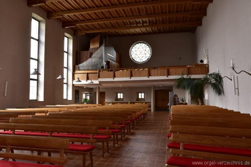 Buchs – Reformierte Kirche Orgel