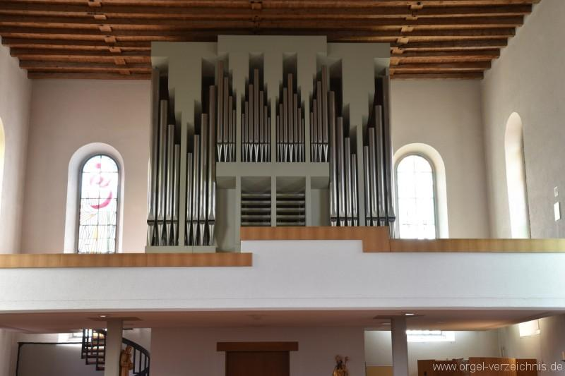 Erlinsbach/Niedererlinsbach - St. Nikolaus Orgel